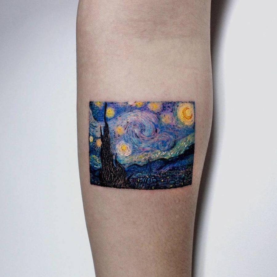 Starry Night Tattoo