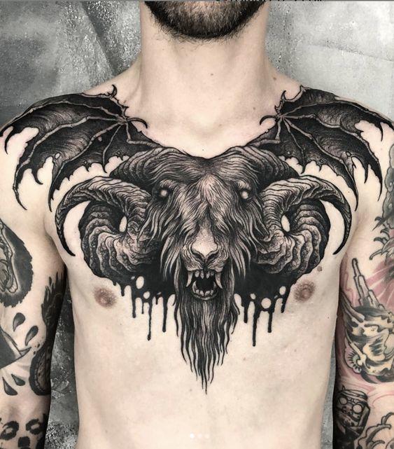 Ram Tattoo for men