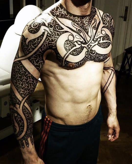 Nordic Tattoo for men