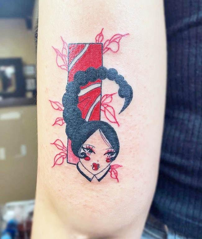 Scorpio tattoo for women on hand