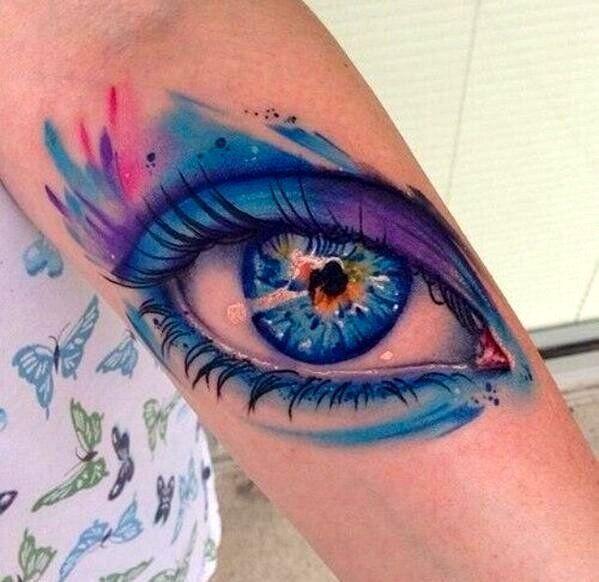 Amazing 3D Tattoo