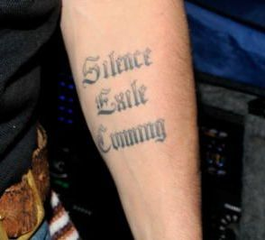 Silence Exile cunning tattoo